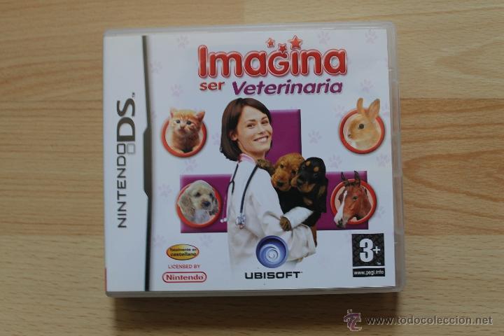 Videojuegos y Consolas: IMAGINA SER VETERINARIA JUEGO NINTENDO DS EDICIÓN ESPAÑOLA - Foto 2 - 41156764