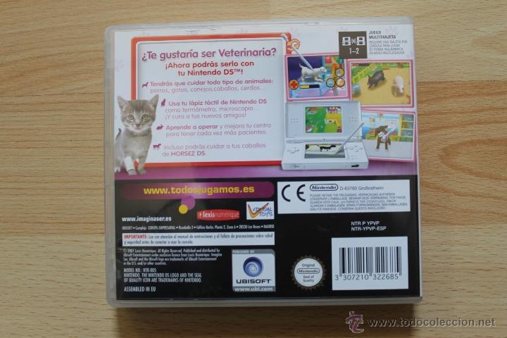 Videojuegos y Consolas: IMAGINA SER VETERINARIA JUEGO NINTENDO DS EDICIÓN ESPAÑOLA - Foto 3 - 41156764