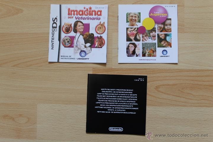 Videojuegos y Consolas: IMAGINA SER VETERINARIA JUEGO NINTENDO DS EDICIÓN ESPAÑOLA - Foto 4 - 41156764