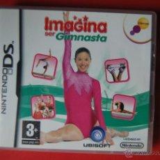 Videojuegos y Consolas: NINTENDO DS IMAGINA SER GIMNASTA. Lote 41591287