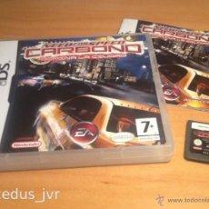 Videojuegos y Consolas: NEED FOR SPEED CARBONO JUEGO PARA NINTENDO DS COMPLETO VERSIÓN ESPAÑOLA. Lote 43888694