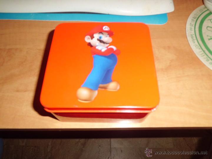 CAJA METALLICA COLECCIONABLE DE NINTENDO 11CMX11CM X6CM (Juguetes - Videojuegos y Consolas - Nintendo - DS)