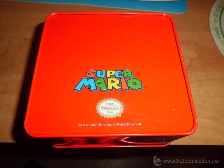 Videojuegos y Consolas: caja metallica coleccionable de nintendo 11cmx11cm x6cm - Foto 2 - 44088841