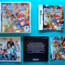 Videojuegos y Consolas: MARIO PARTY DS CAJA Y MANUAL DE INSTRUCCIONES ESPAÑOL NINTENDO DS ORIGINAL. Lote 44219213