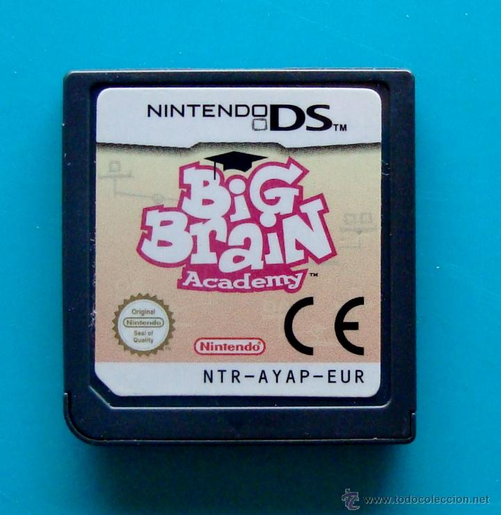 BIG BRAIN ACADEMY CARTUCHO NINTENDO DS ORIGINAL (Juguetes - Videojuegos y Consolas - Nintendo - DS)