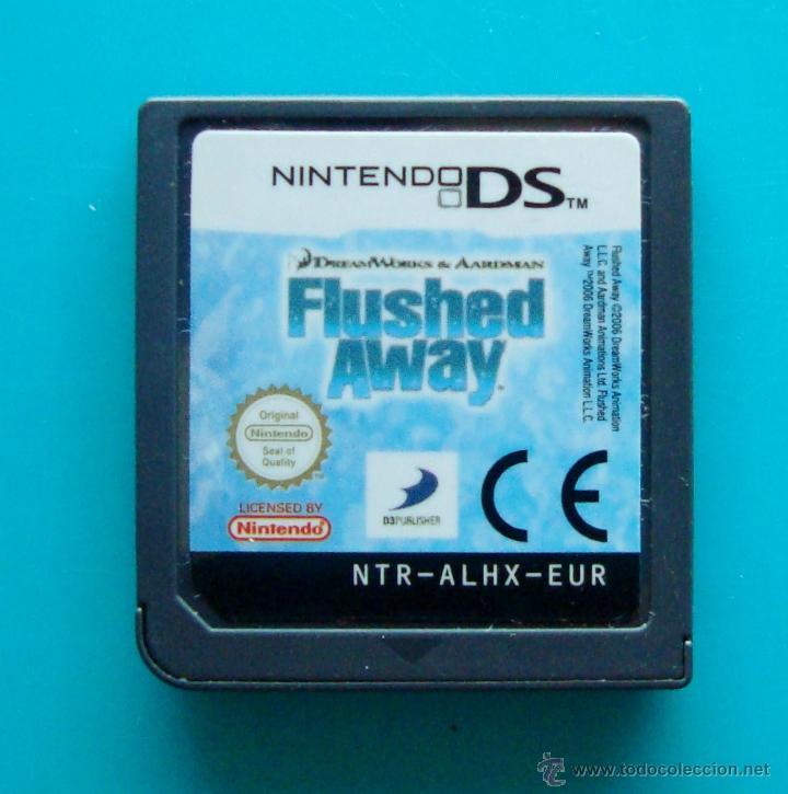 FLUSHED AWAY CARTUCHO NINTENDO DS ORIGINAL (Juguetes - Videojuegos y Consolas - Nintendo - DS)