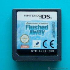 Videojuegos y Consolas: FLUSHED AWAY CARTUCHO NINTENDO DS ORIGINAL. Lote 44219298