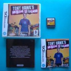 Videojuegos y Consolas: TONY HAWKS CAJA CARTUCHO Y MANUAL DE INSTRUCCIONES ESPAÑOL NINTENDO DS ORIGINAL. Lote 44219353