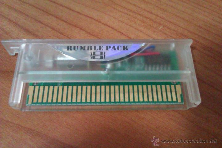 RUMBLE PACK PARA NINTENDO DS VERSION TRANSPARENTE (Juguetes - Videojuegos y Consolas - Nintendo - DS)