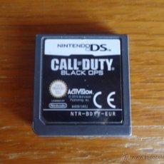 Videojuegos y Consolas: JUEGO NINTENDO DS CALL OF DUTY BLACK OPS SUBJETIVO SHOOTER ACCIÓN SÓLO CARTUCHO ACTIVISION 2010. Lote 44904245