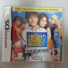 Videojuegos y Consolas: HIGH SCHOOL MUSICAL 2 ¡VIVE EL VERANO! - COMPLETO - NINTENDO NDS. Lote 44954096