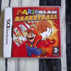 Videojuegos y Consolas: MARIO SLAM BASKETBALL - NINTENDO DS - EDICION ESPAÑA - COMPLETO - GRAN ESTADO. Lote 45606542