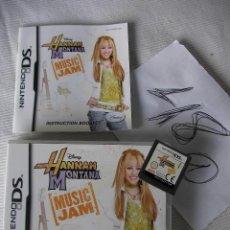 Videojuegos y Consolas: JUEGO NINTENDO DS - DISNEY HANNAH MONTANA - MUSIC JAM. Lote 48577465