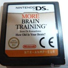 Videojuegos y Consolas: MORE BRAIN TRAINING. Lote 48876642