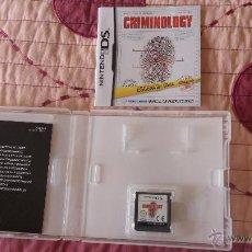 Videojuegos y Consolas: CRIMINOLOGY JUEGO PARA NINTENDO DS COMPLETO. Lote 49017511