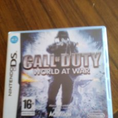 Videojuegos y Consolas: JUEGO NINTENDO DS.CALL OF DUTY.WORLD AT WAR.. Lote 49714630