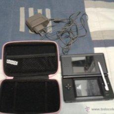 Videojuegos y Consolas: NINTENDO DS CON FUNDA,LAPIZ Y CARGADOR MIRA FOTOS. Lote 49945453