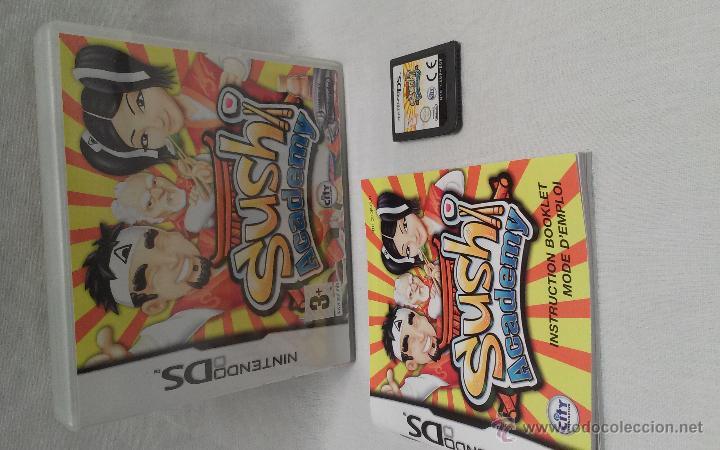 Videojuegos y Consolas: JUEGO NINTENDO DS - SUSHI ACADEMY - CON CAJA E INSTRUCCIONES - Foto 2 - 49960034