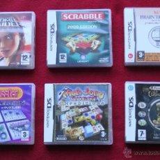 Videojuegos y Consolas: 7 NINTENDO DS (LOTE DE 7 JUEGOS) LEER. Lote 53055955
