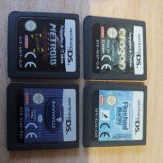 Videojuegos y Consolas: LOTE 4 JUEGOS NINTENDO DS. Lote 53526400