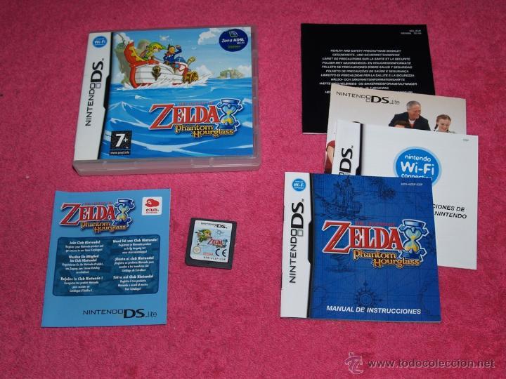 Juego Nintendo Ds Nds Lite Xl Zelda Phantom Hou Comprar