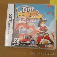 Videojuegos y Consolas: TIM POWER-LUCHA CONTRA EL FUEGO-NINTENDO DS-UBISOFT-2008. Lote 54271441