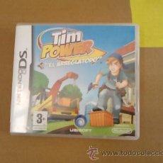 Videojuegos y Consolas: TIM POWER-EL ARREGLATODO-NINTENDO DS-UBISOFT-2008. Lote 54271551