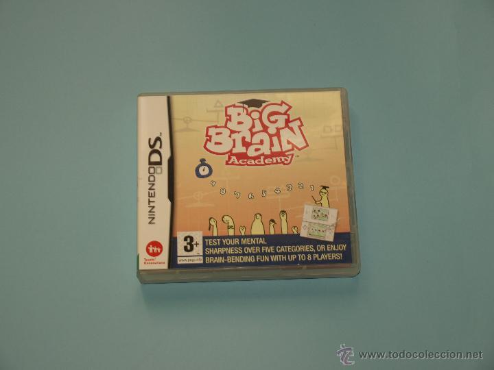 BIG BRAIN ACADEMY PARA NINTENDO DS (Juguetes - Videojuegos y Consolas - Nintendo - DS)
