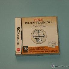 Videojuegos y Consolas: MORE BRAIN TRAINING FROM DR. KAWASHIMA (MÁS BRAIN TRAINING DEL DR. KAWASHIMA) PARA NINTENDO DS. Lote 55037427