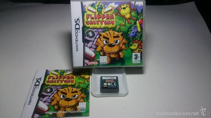 FLIPPER CRITTERS ( NINTENDO- 2DS-3DS- PAL- ESP) (Juguetes - Videojuegos y Consolas - Nintendo - DS)