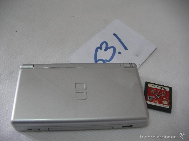 NINTENDO DS CON JUEGO CARS FUNCIONANDO (Juguetes - Videojuegos y Consolas - Nintendo - DS)