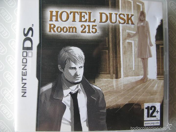 HOTEL DUSK. ROOM 215. NINTENDO DS. COMO NUEVA. NINTENDO DS. (Juguetes - Videojuegos y Consolas - Nintendo - DS)
