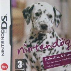 Videojuegos y Consolas: NINTENDOGS. DALMATIAN AND FRIENDS. COMO NUEVO. NINTENDO DS.. Lote 57305544