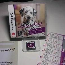 Videojuegos y Consolas: NINTENDOGS - DALMATIAN ( NINTENDO DS-2DS-3DS- PAL- ESP). Lote 57330268