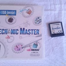 Videojuegos y Consolas: JUEGO MECANICO MAESTRO MECHANIC MASTER NINTENDO DS DSI XL 2DS 3DS PAL UK INGLES.MAS DE 100 NIVELES.. Lote 57339588