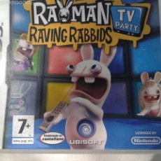 Videojuegos y Consolas: RAYMAN RAVING RABBIDS TV PARTY NINTENDO DS. Lote 57540265