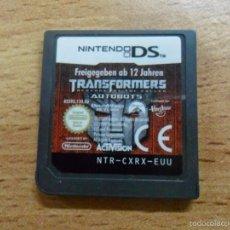 Videojuegos y Consolas: TRANSFORMERS AUTOBOTS REVENGE - NINTENDO DS NDS - PAL ESP. Lote 58523049