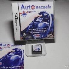 Videojuegos y Consolas: AUTOESCUELA TRAINER ( NINTENDO DS- 2DS-3DS- PAL- ESP). Lote 58546898