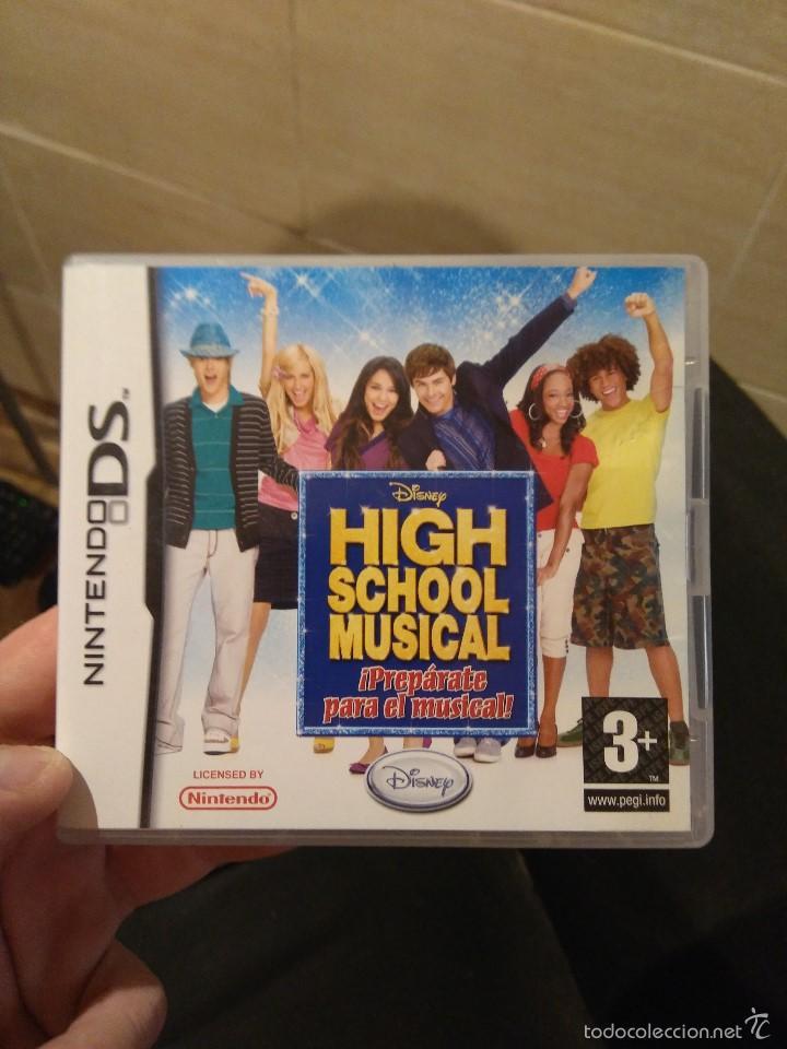 Juego Nintendo Ds High School Musical Comprar Videojuegos Y