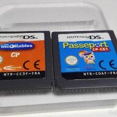 Videojuegos y Consolas: 2 X JUEGOS EN FRANCES ( NINTENDO DS-2DS-3DS- PAL- ESP) G8. Lote 59507303