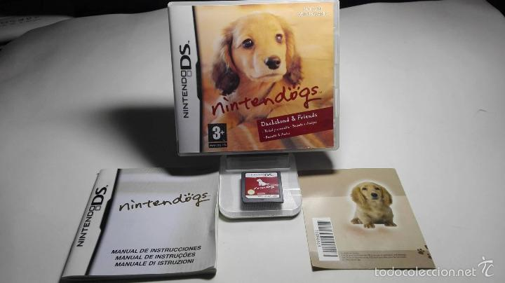 NINTENDOGS ( NINTENDO DS-2DS-3DS- PAL- ESP) (Juguetes - Videojuegos y Consolas - Nintendo - DS)