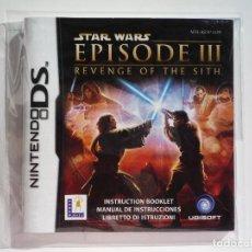 Videojuegos y Consolas: MANUAL STAR WARS EPISODE III REVENGE OF THE SITH NINTENDO DS (CASTELLANO). Lote 62455516