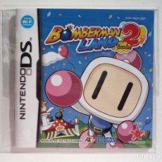 Videojuegos y Consolas: MANUAL BOMBERMAN LAND 2 TOUCH NINTENDO DS (CASTELLANO). Lote 62458796