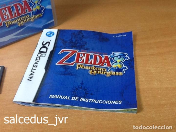 The Legend Of Zelda Phantom Hourglass Juego Par Comprar