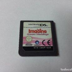 Videojuegos y Consolas: IMAGINE DREAM WEDDINGS NINTENDO DS. Lote 68067929