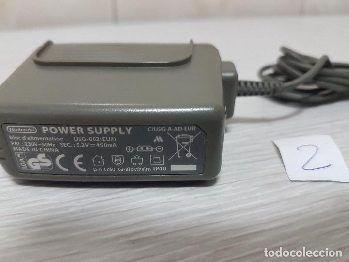 Videojuegos y Consolas: ADAPTADOR DE CORRIENTE ORIGINAL NINTENDO - POWER SUPPLY USG-002 (EUR) - (2) - Foto 2 - 69923693