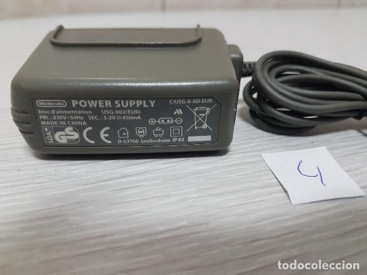 Videojuegos y Consolas: ADAPTADOR DE CORRIENTE ORIGINAL NINTENDO - POWER SUPPLY USG-002 (EUR) - (4) - Foto 3 - 69923793