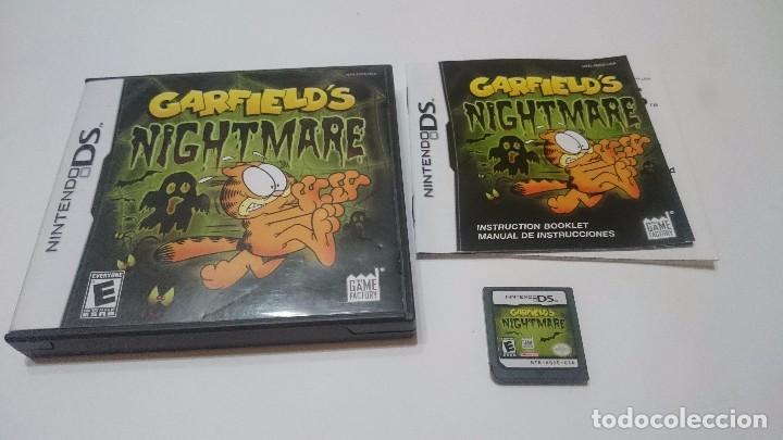 Garfield S Garfield Nightmare Nintendo Ds Dsi X Sold Through Direct Sale 70043305