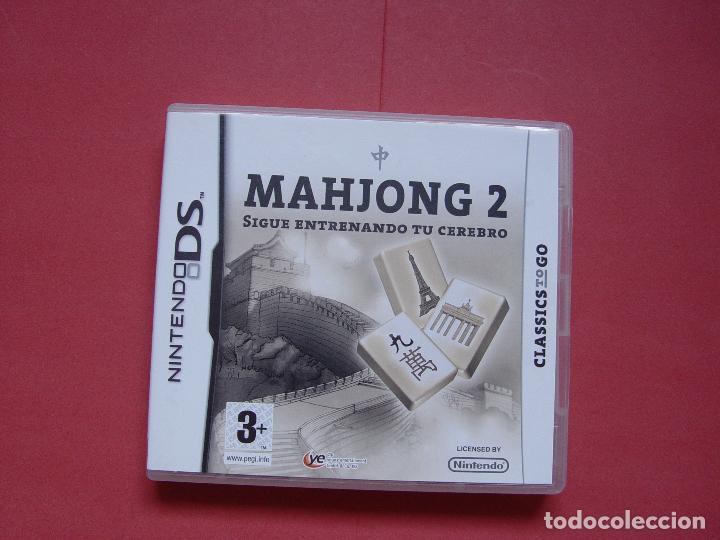 Videojuegos y Consolas: Juego Nintendo DS (MAHJONG 2) ¡Original! ¡Completo! - Foto 2 - 70489917