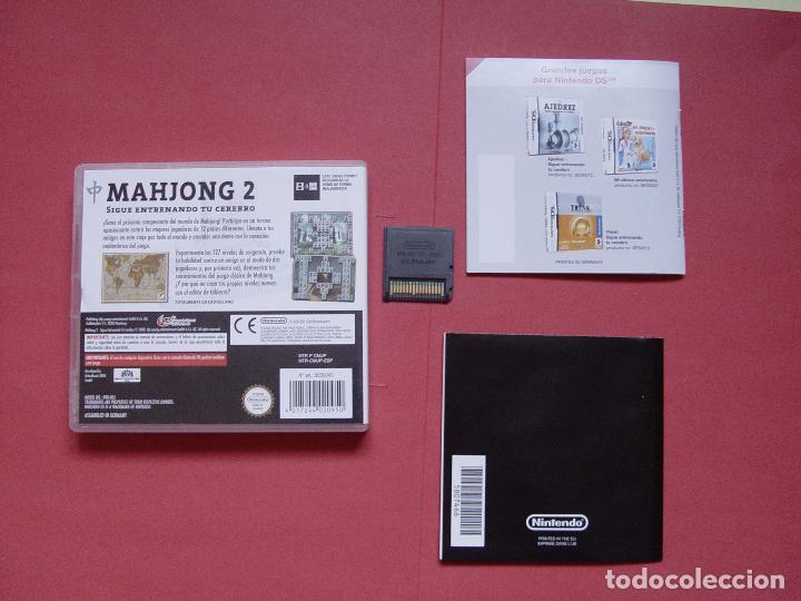 Videojuegos y Consolas: Juego Nintendo DS (MAHJONG 2) ¡Original! ¡Completo! - Foto 3 - 70489917